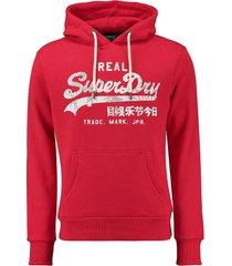 hoodie rising sun rood
