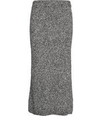 isaneiw skirt knälång kjol grå inwear