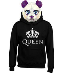 buzo chaqueta hoodies  queen