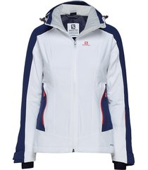 brilliant jkt w outerwear sport jackets wit salomon