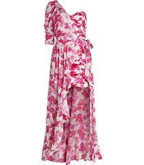 aruba floral 2-piece shawl & mini dress set