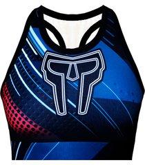 top xtreme spartanus fightwear azul