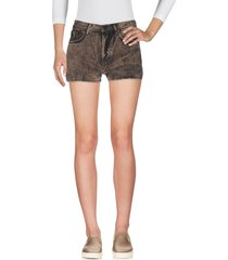 (+) people denim shorts