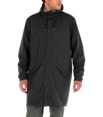 parka raincoat rockford negro rockford