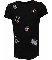 exclusief military patches - t-shirt