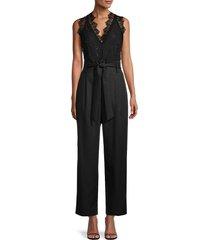 sandro women's alexis jumpsuit - black - size 36 (s)