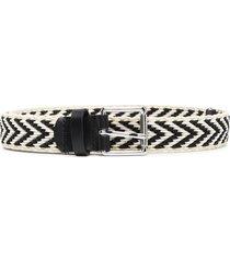 iro chevron woven belt - neutrals