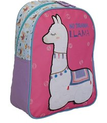 mochila violeta no drama llama
