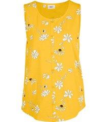 top in jersey (giallo) - bpc bonprix collection