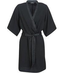 korte jurk maison scotch ss black dress