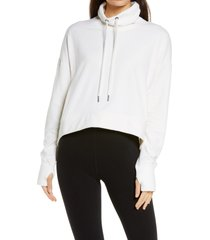 women's sweaty betty harmonise luxe sweatshirt