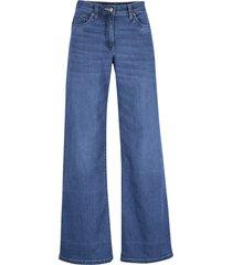 jeans elasticizzati extra larghi con cinta comoda (blu) - bpc bonprix collection