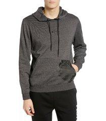 men's hurley sig zane pullover hoodie, size large - black