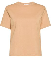 t-shirt classic t-shirts & tops short-sleeved beige bread & boxers