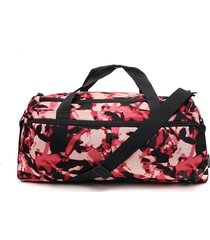 maletín rosa-negro-gris under armour undeniable duffle-s-org peach frost