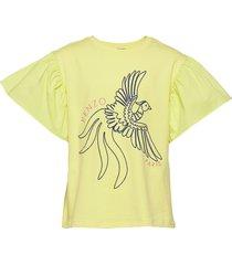 johanna t-shirts short-sleeved geel kenzo