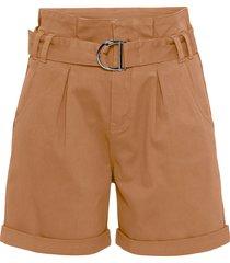 shorts a vita alta (marrone) - rainbow