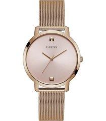 reloj guess nova gw0243l3 - oro rosa