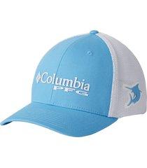 gorra azul riptide marlin columbia pfg mesh