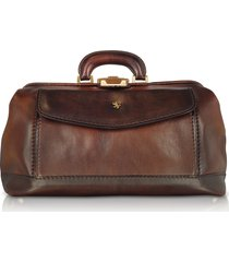 pratesi designer travel bags, genuine leather doctor bag