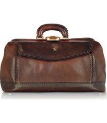 pratesi designer travel bags, genuine leather doctor bag