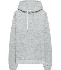 john elliott beach fleece hoodie - grey