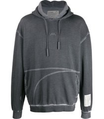 a-cold-wall* drawstring hoodie - grey
