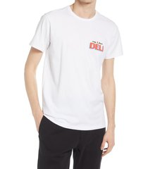men's rag & bone bodega graphic tee, size x-small - white (nordstrom exclusive)