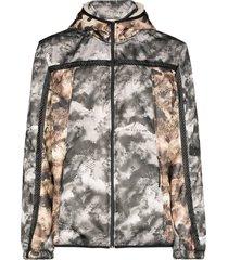 1017 alyx 9sm myles graphic-print hooded jacket - black