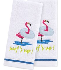 """martha stewart collection surf's up 2-pc. 11"""" x 18"""" fingertip towel set, created for macy's bedding"""