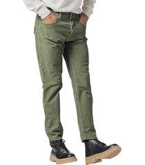 1000 stripe velvet jeans cut trousers