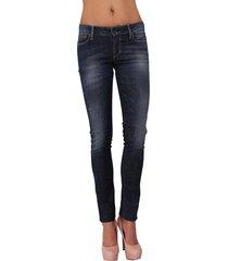 guess jeans - starlet skinny dark soft rust