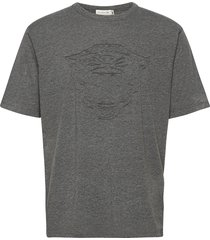 jello pa t-shirts short-sleeved grijs tiger of sweden jeans