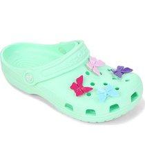 crocs infantil classic butterfly charm clog
