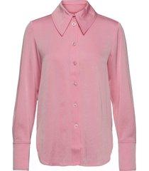 james, 1137 sheen cady långärmad skjorta rosa stine goya