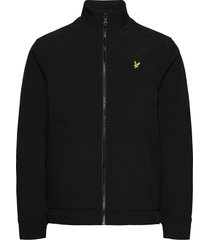 funnel neck softshell jacket tunn jacka svart lyle & scott