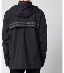 canada goose men's nanaimo rain jacket - black - xl