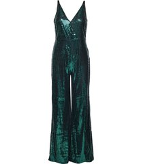 sequin jumpsuit jumpsuit grön ivyrevel