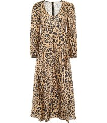 zimmermann leopard-printed dress
