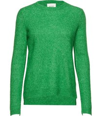 brook knit new o-neck gebreide trui rood second female