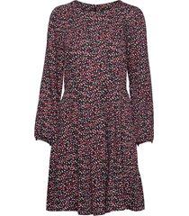 dress knälång klänning röd marc o'polo