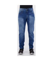 calça jeans ecko slim fit azul