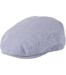 stetson men's seersucker ivy cap