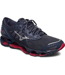 wave prophecy 9 shoes sport shoes running shoes blå mizuno