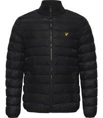 packable puffer jacket gevoerd jack zwart lyle & scott