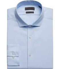 calvin klein men's infinite light blue slim fit dress shirt - size: 18 34/35