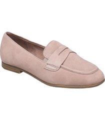 woms slip-on loafers låga skor rosa tamaris