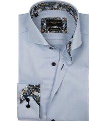 cavallaro shirt mouwlengte 7 lichtblauw