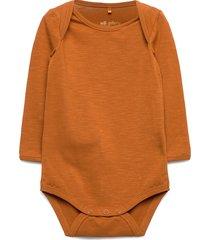 bob body bodies long-sleeved orange soft gallery
