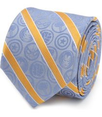 marvel comics stripe men's tie
